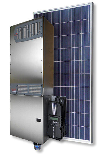 Electrical solar panels