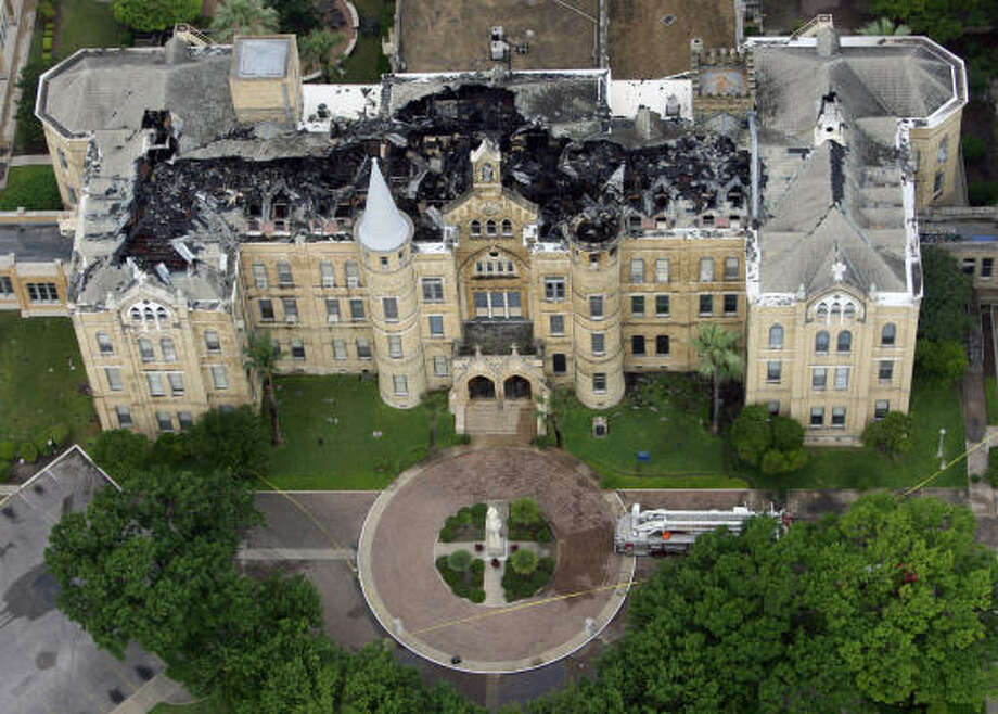 Fire Devastates Our Lady Of The Lake Univeristy Houston