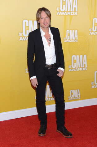 Country music artist Keith Urban attends the 46th annual CMA Awards at the Bridgestone Arena on November 1, 2012 in Nashville, Tennessee. Photo: Jason Kempin, Getty Images / 2012 Getty Images