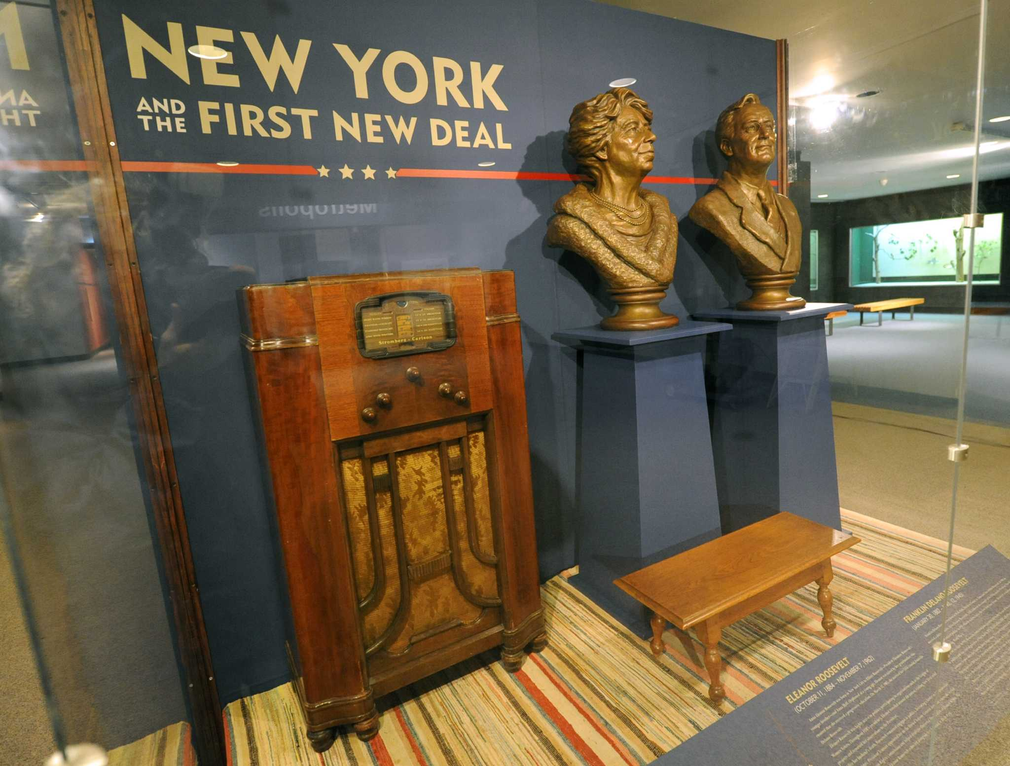 Fdr And The First New Deal In Albany Exhibit Opens On