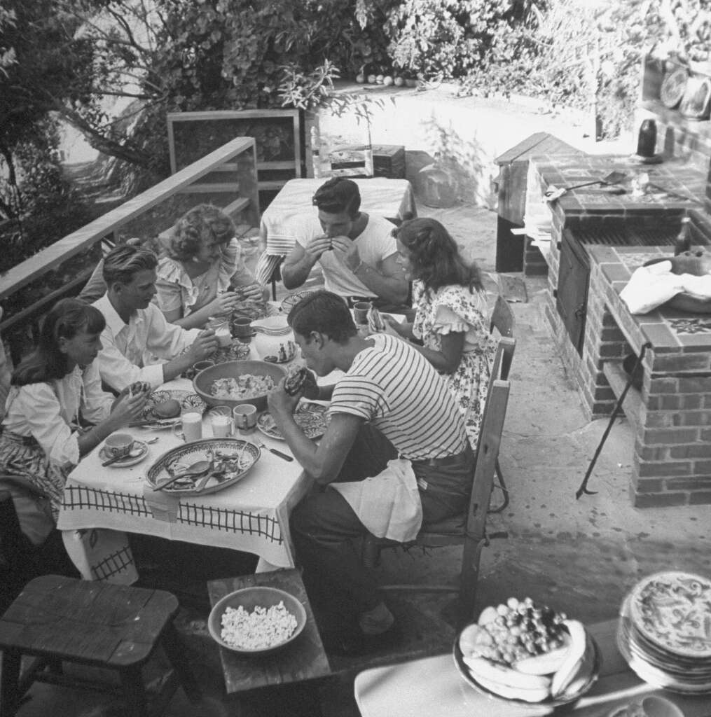 Image result for neighborhood cookout 1930s