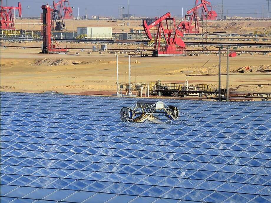 Oil and gas industry the next major market for solar power