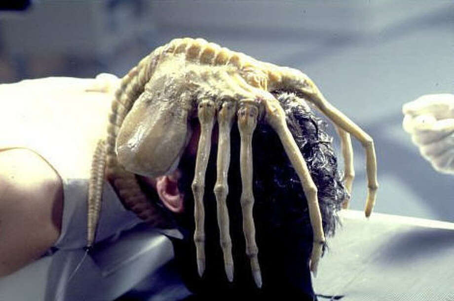 Image result for face hugger alien monster