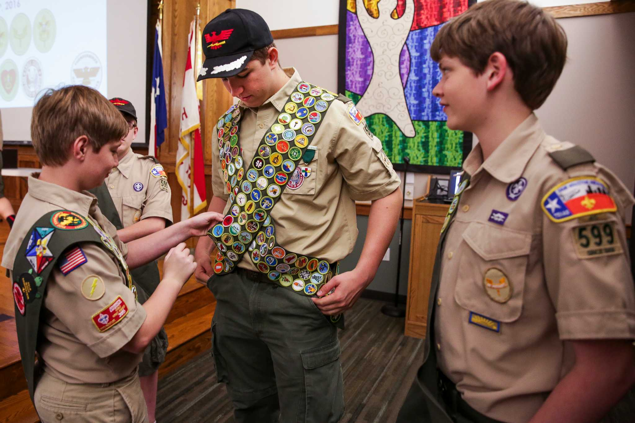 Milestone Reached As Houston Teen Earns All 138 Badges