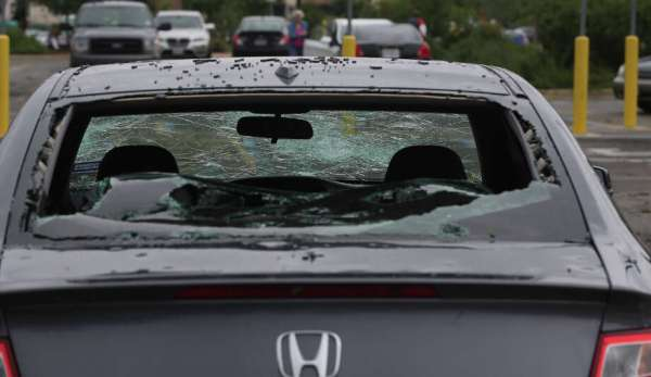 Hail spotted in San Antonio April 12, 2016 - San Antonio ...