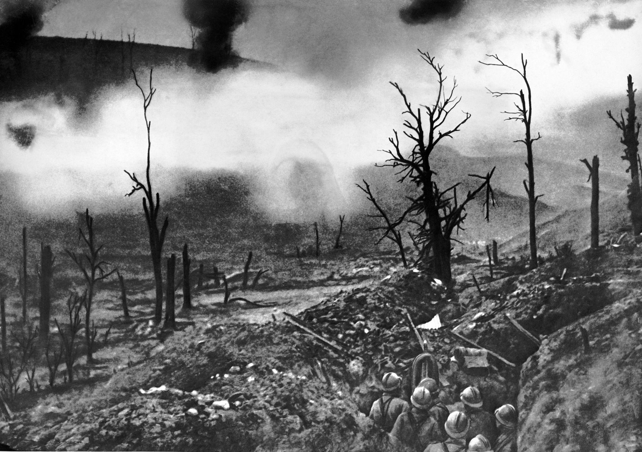 Gallery World War I Battlefields 100 Years Later