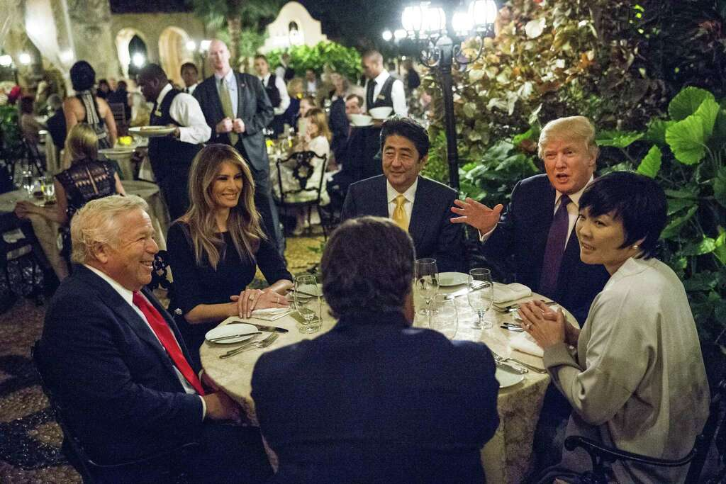 Image result for photo of trump at mar-a-lago