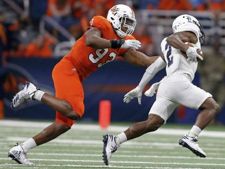 Image result for Marcus davenport utsa sack