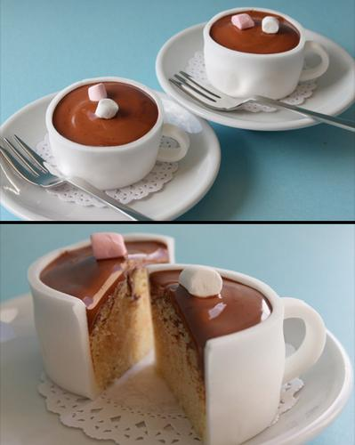 酷设计16种创意纸杯蛋糕