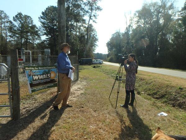 Interviewing John S. Quarterma, president of WWALS