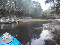1600x1200 Bret W. and Dave H. @ shoals, in Alapaha River Outing, by John S. Quarterman, for WWALS.net, 24 August 2014