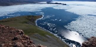 Hiking around Arctic Bay