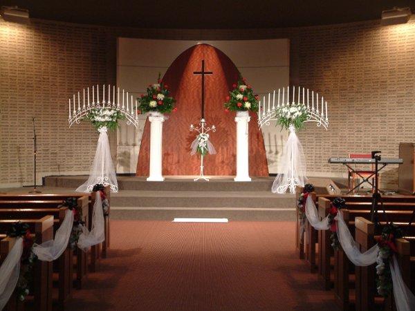 Black Red White Aisle Runner Altar/Arch Arrangements Fall