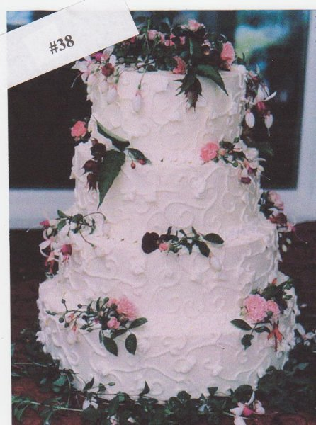 Kake Kreations By Kathy Elk River MN Wedding Cake