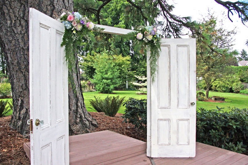 Romantic Rustic Shabby Chic Vintage Altar/Arch