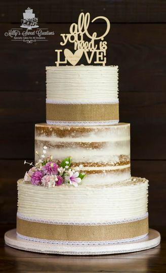 Millys Sweet Creations Wedding Cake Texas Dallas Ft