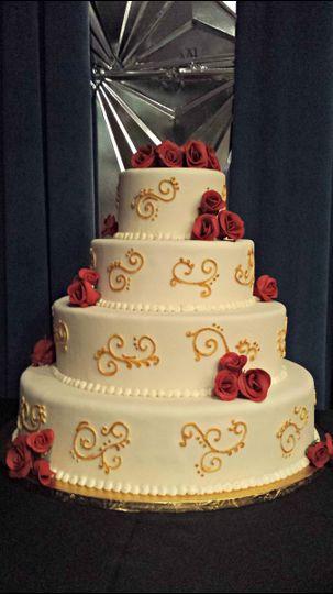 The Happy Tart Wedding Cake Falls Church VA WeddingWire