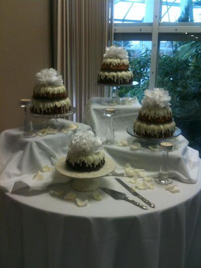 Nothing Bundt Cakes Wedding Cake Corte Madera Ca