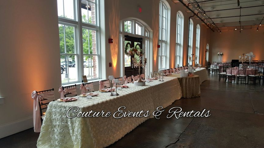 Couture Events Amp Rentals Wedding Planning South Carolina