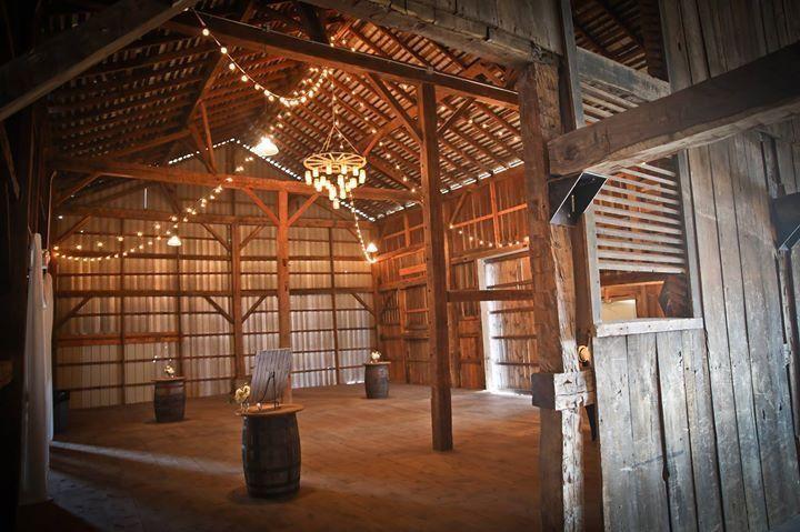 The Buckeye Barn Venue Piqua OH WeddingWire