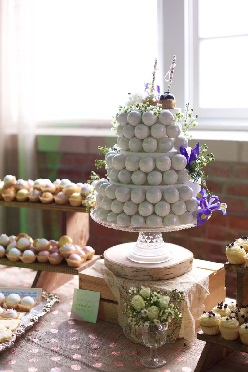 Buffalo Cake Pops Wedding Cake Buffalo NY WeddingWire