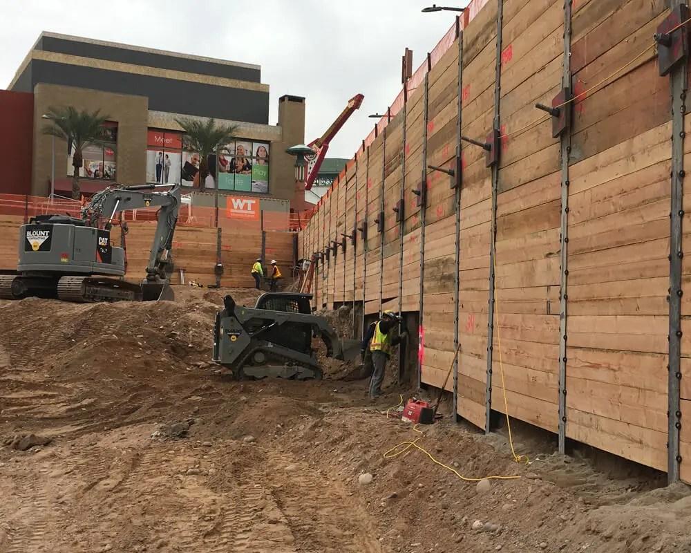 Block 23 Site Retention Wall