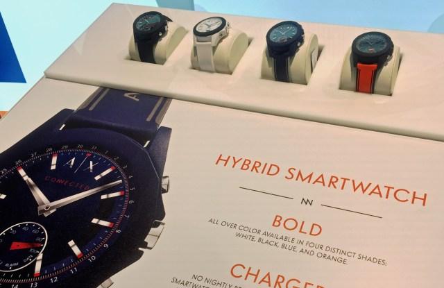 Armani Exchange Hybrid Smartwatches