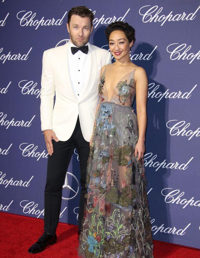 Joel Edgerton and Ruth Negga Palm Springs International Film Festival Awards Gala, Arrivals 2017