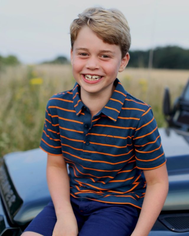 — Duchess of Cambridge Photographs Smiling Prince George on 8th Birthday