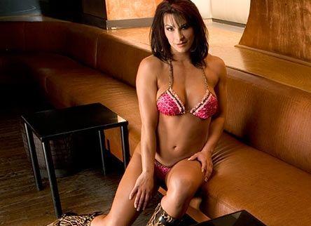 Victoria Sitting In Pink Bikini   WWE Divas   WWE Wallpapers