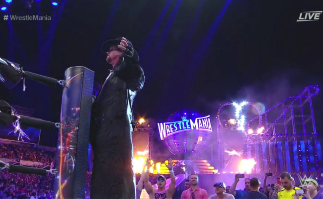 undertaker-wrestlemania-33-entrance