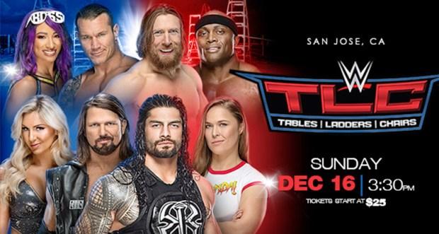 Watch WWE TLC 16th December 2018