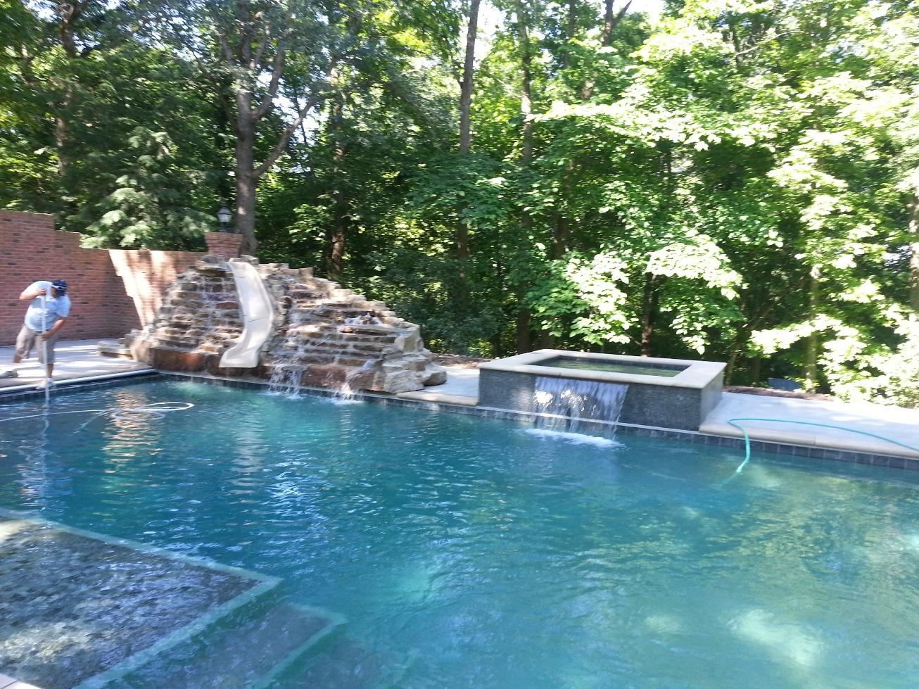 Concrete Swimming Pools Photos