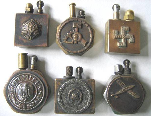 Немецкие бензиновые зажигалки почему-то всегда работали лучше советских.