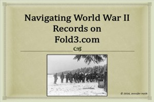 Navigating World War II Records on Fold3.com