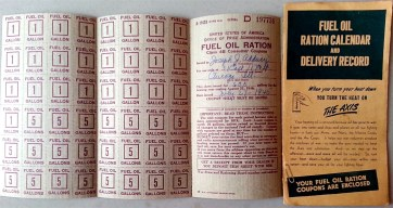 Ration Stamps for Oil