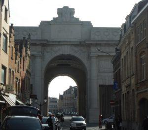 Menin Gate. Photo courtesy of author