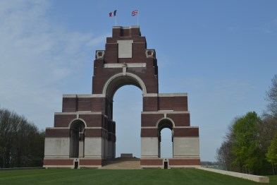 Thiepval Memorial to the Missing of the Somme. Courtesy of author.