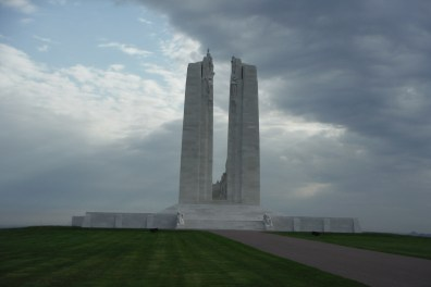 Vimy Ridge. Photo courtesy of the author.