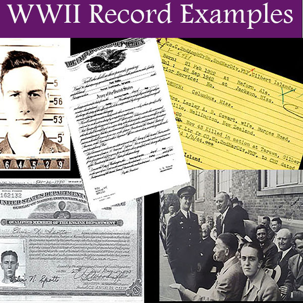WWII Record Examples