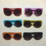color flat bridge 1940 sunglasses