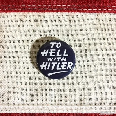 WWII Hitler Pin, WW2