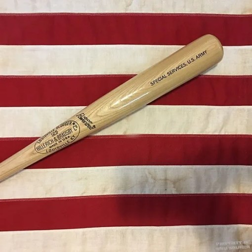 WWII US Army Baseball Bat, WW2