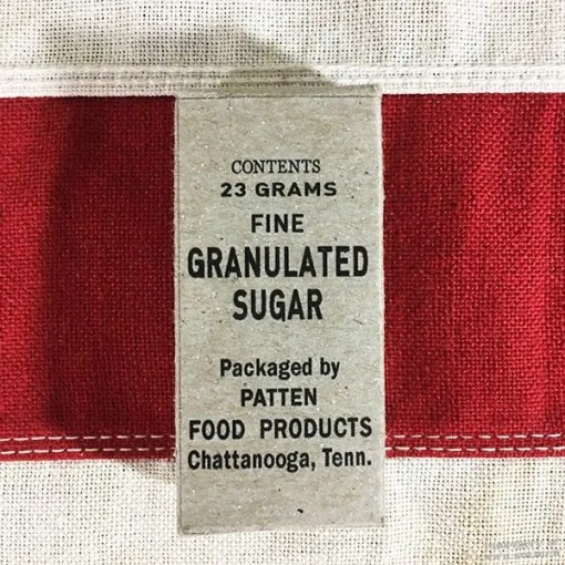 WWII Granulated Sugar Ration Box, WW2 Reproduction