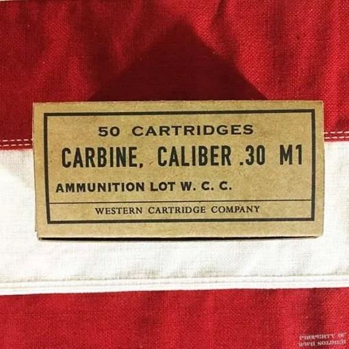 WWII Carbine, Caliber .30 M1 Reproduction Box, ww2