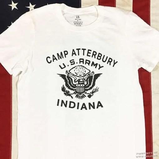 Camp Atterbury T shirt, WWII WW@