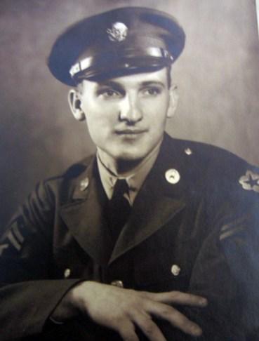 John Raisler in WWII