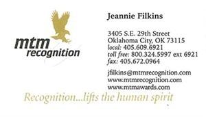 Filkins, Jeannine - B.card