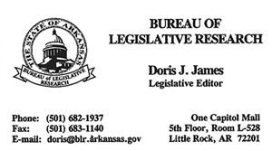 Johnston-James, Doris - Business Card