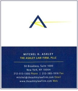 Ashley, Mitchell - B.Card